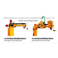 S24 Single arm Resin sand mixing machine thumbnail image