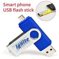 For Android otg usb flash drive 16gb usb pendrive otg usb 32gb thumbnail image