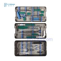 Spine System Instruments Set Pedicle Screws Instruments Spinal Screw Rod System Instruments Orthopae