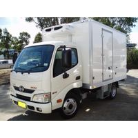 German material Refrigerated truck box body with cheap price