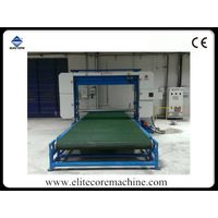 Automatic horizontal foam cutting machine (conveyor belt+vacuum system )