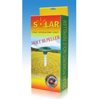 Solar power mole repellent