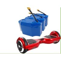 2017 good quality 36v 4.4ah 10s2p lithium battery pack for self balancing scooter 2 wheels