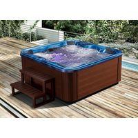 Freestanding Acrylic Sex Massage Outdoor Hot Tub Spa bathtub for six person thumbnail image