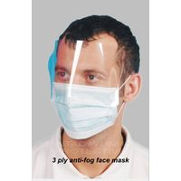 3 Ply Anti-fog Face Mask With Earloop