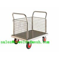 Stainless Steel Welded Mesh Cart