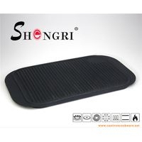 SR048 Square Camping Grill Plate BBQ Cookware thumbnail image