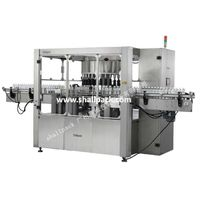 Automatic rotary self adhesive sticker labeling machine SLP-600D_Shallpack