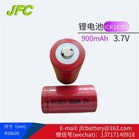 18350 battery,Rechargeable Batteries 18350 3.7V 900mAh battery,Electronic cigarette battery