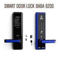Smart electronic door lock BABA-8200 Swipe Card Password Opening Electronic Automatic Door Lock