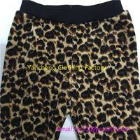 factory denim cotton fur lined leggings wholesale children soft warm pants wholesale thumbnail image