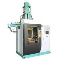 """VI-IO Series Vertical """"all-in-out"""" Silicone/Synthetic Rubber Injection Machine thumbnail image"""