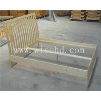 (W-B-0071) pine wood bedroom furniture set