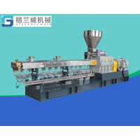 75 mm parallel twin screw extruder, CACO3 granulator, Tio2 pelletizer