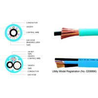 CO2 WELDING CONNECTION SINGLE CABLE