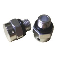 Waterproof Ip68 Protective metal vents valves For Outdoor Electronics
