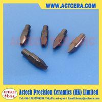Black ceramic nozzle tip