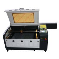Low price 60W CO2 laser engraving cutting machine, 600*400mm for sale thumbnail image