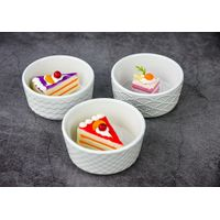 professional supply ceramic cake bowl dessert bowl
