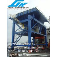 50cbm Rubber Type Mobile Dust-Trap Hopper