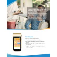 Handheld Smart POS System Mobile Payment Terminal