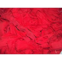 Chili Red Knit clips / rags ( 100% Cotton )