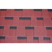 KLAI-201 colorful asphalt shingles-laminated