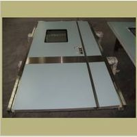 hinged medical doors