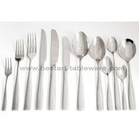 Eco-friendly mirror polish stainless steel hotel restaurant cutlery set