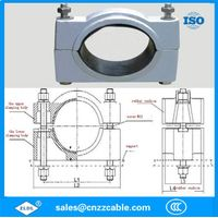 aluminum alloy cable clamps cable accessories