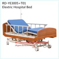RD-YE3005A+T01 Wooden Homecare Bed Electric Hospital Nursing Home Bed thumbnail image