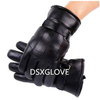Men Leather Winter Glove