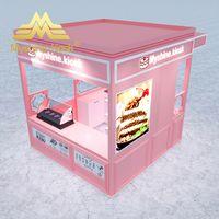 Customized Food Kiosk Wood Ice Cream Kiosk Juice Bar Kiosk Design thumbnail image