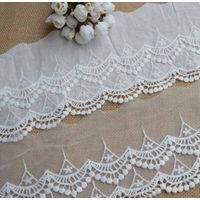 bleached embroidery lace Dong jia yi thumbnail image