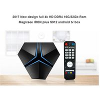 Magicsee IRON+ smart TV Box with 3GB RAM DDR4 powered by Amlogic S912
