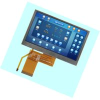 4.3 inch TFT screen, high-definition color 800 480 resolution interface, brightness are optional