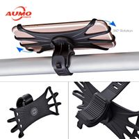Flexible Silicone bicycle Mobile bracket motorcycle Phone Holder thumbnail image