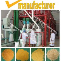 maize grits grinding machine, maize grits processing machine,corn flour mill,roller mill