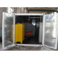 Removable Transportable Container oil gas burning Boiler