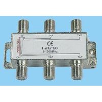 CATV outdoor splitter and taps