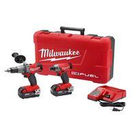 Milwaukee 2897-22 M18 FUEL Cordless Li-Ion 2-Tool Combo Kit - Drill/Impact