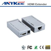 Factory price 3D HD 1080P 60m Cat5e HDMI extender