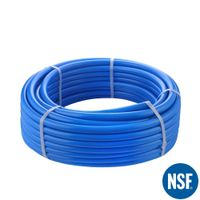 "Pex Pipe 3/4"" 300FT Coil Non-Oxygen Barrier - Blue"