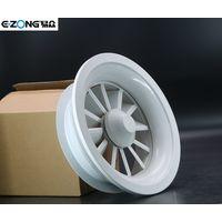 Round aluminum swirl diffuser