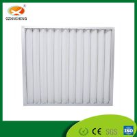 Customized Folded Panel Primary Efficiency G4 Air Filter
