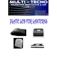 PLATE FOR LED LANTERNS