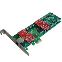 TDM410E 4 Port Asterisk PCI-E Card 2U