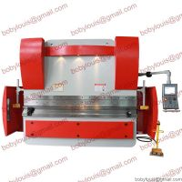 CNC hydraulic press brake for sheet metal bending WE67K-300T3200