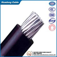 Overhead aluminum cable 2x16mm2 abc cable