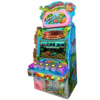 Crazy Crocodile Kids Hitting Game Machine Coin Operated Redemption Tickets Lottery Amusement Games